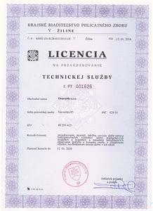Technická licencia
